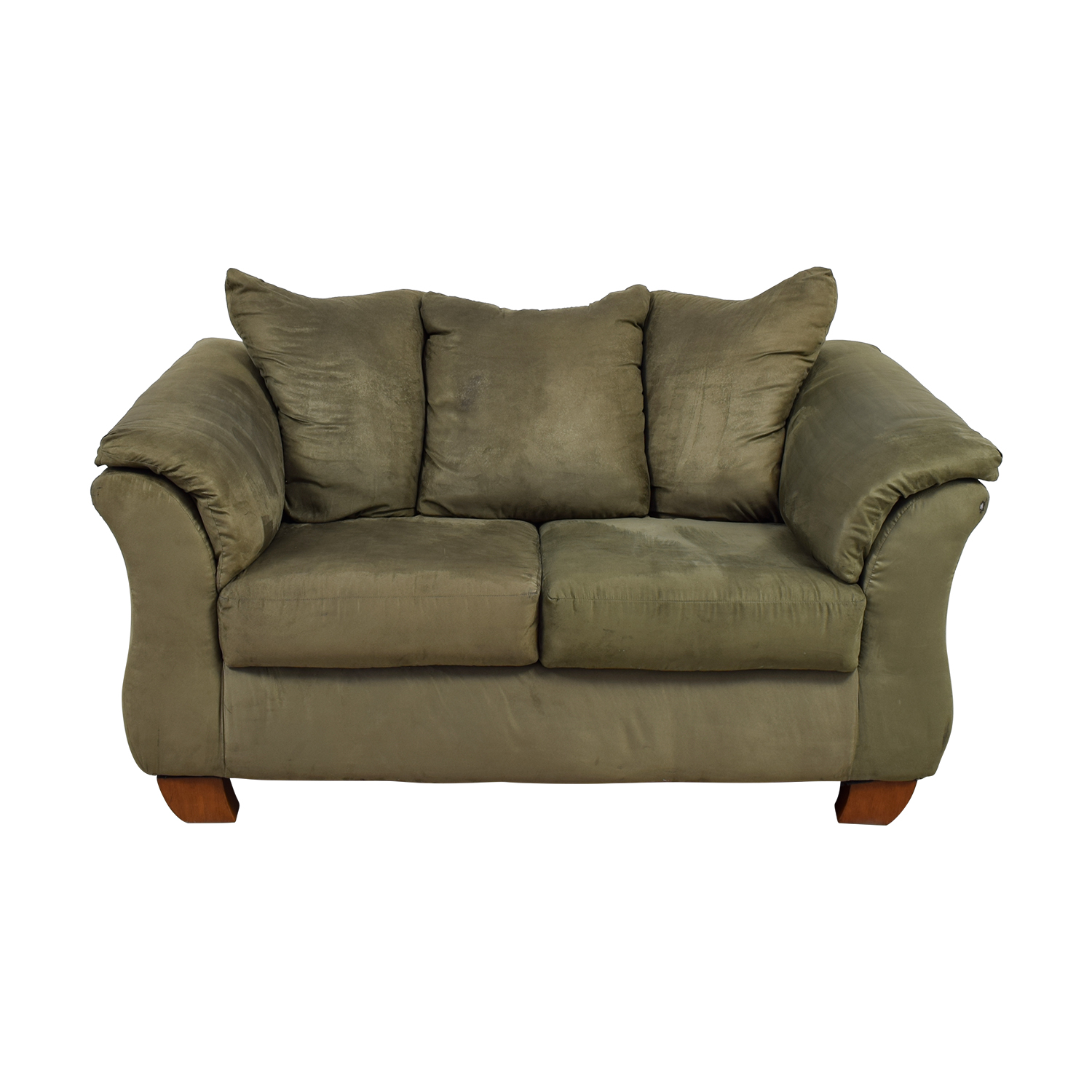 Forest Green Two-Cushion Loveseat price