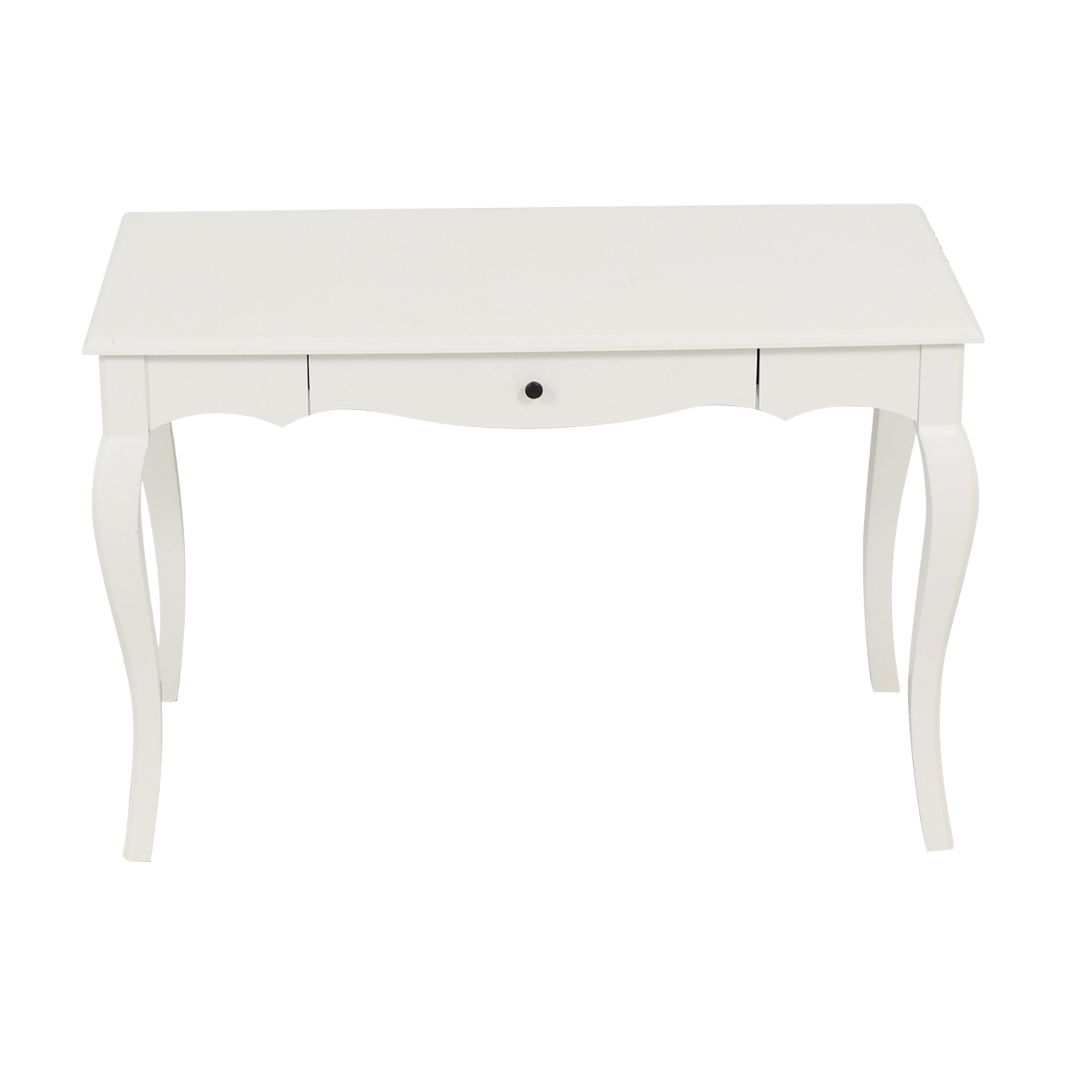 Picture of: 70 Off Pier 1 Pier 1 Toscana Snow White Desk Tables