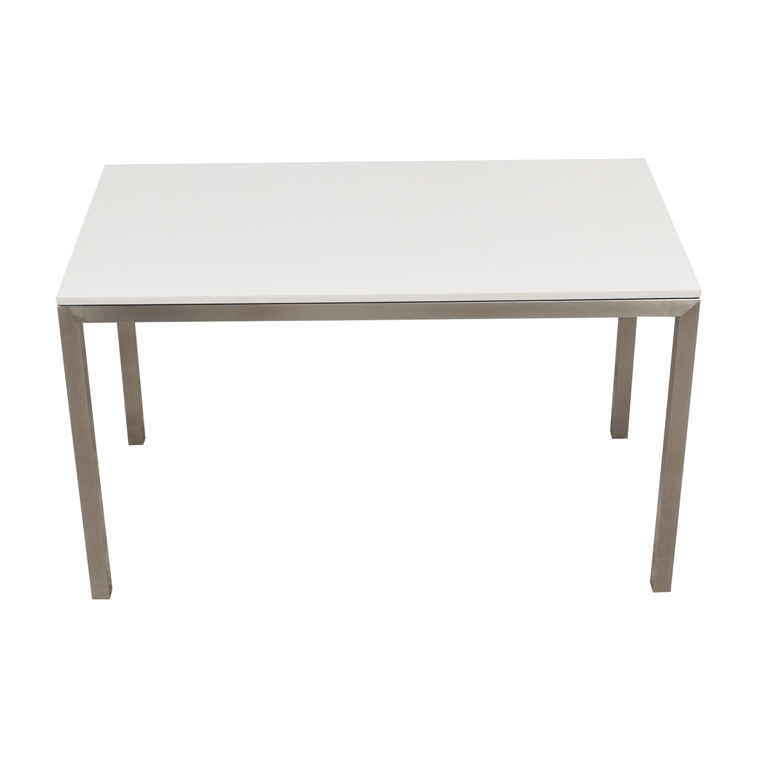 Room & Board Room & Board Portica White Marble & Metal Table on sale