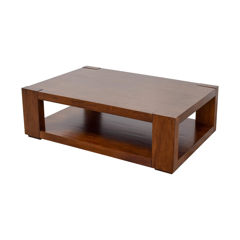 Crate & Barrel Crate & Barrel Lodge Coffee Table price