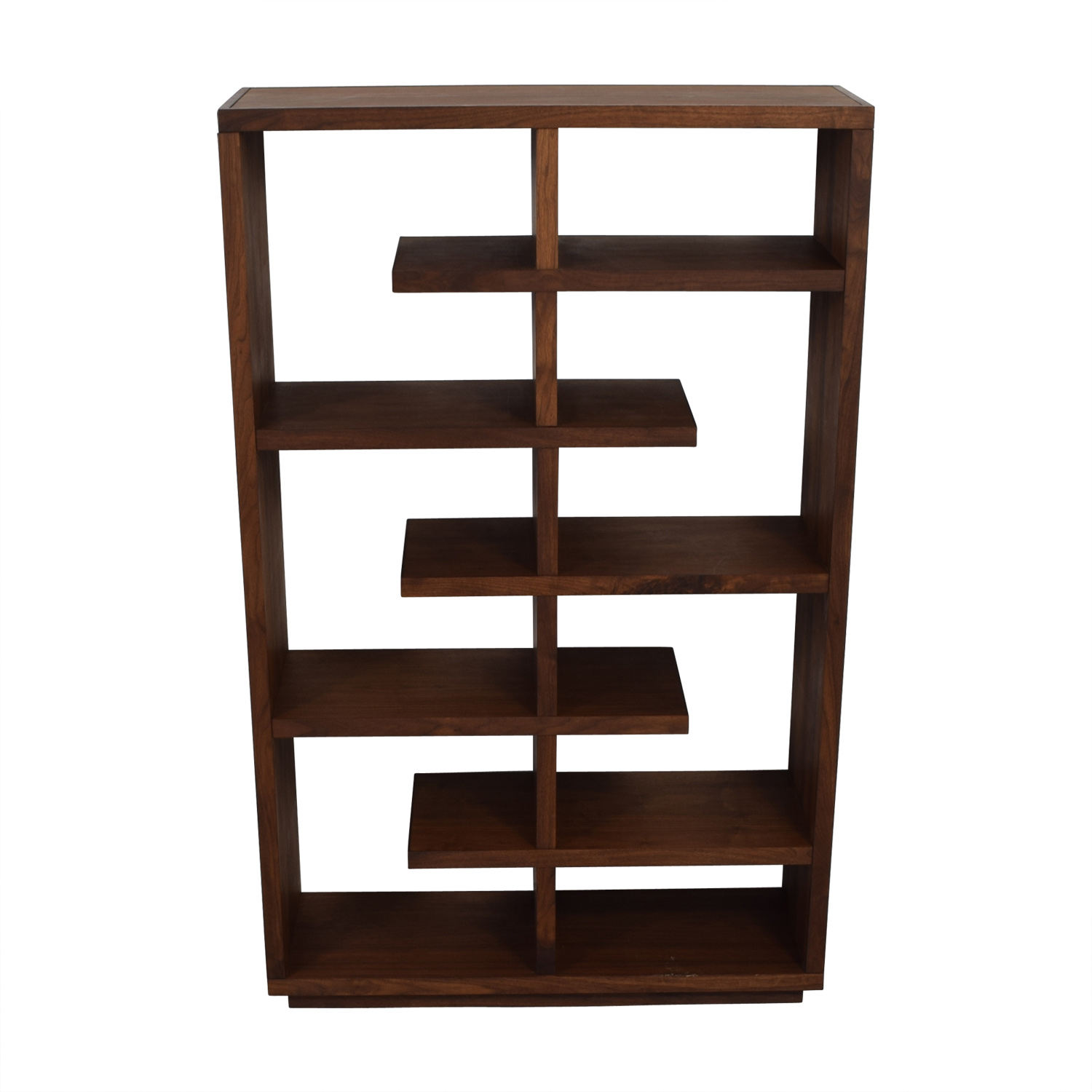 Shop Crate & Barrel Crate & Barrel Elevate Walnut Bookcase