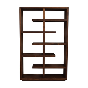 Crate & Barrel Crate & Barrel Elevate Walnut Bookcase discount
