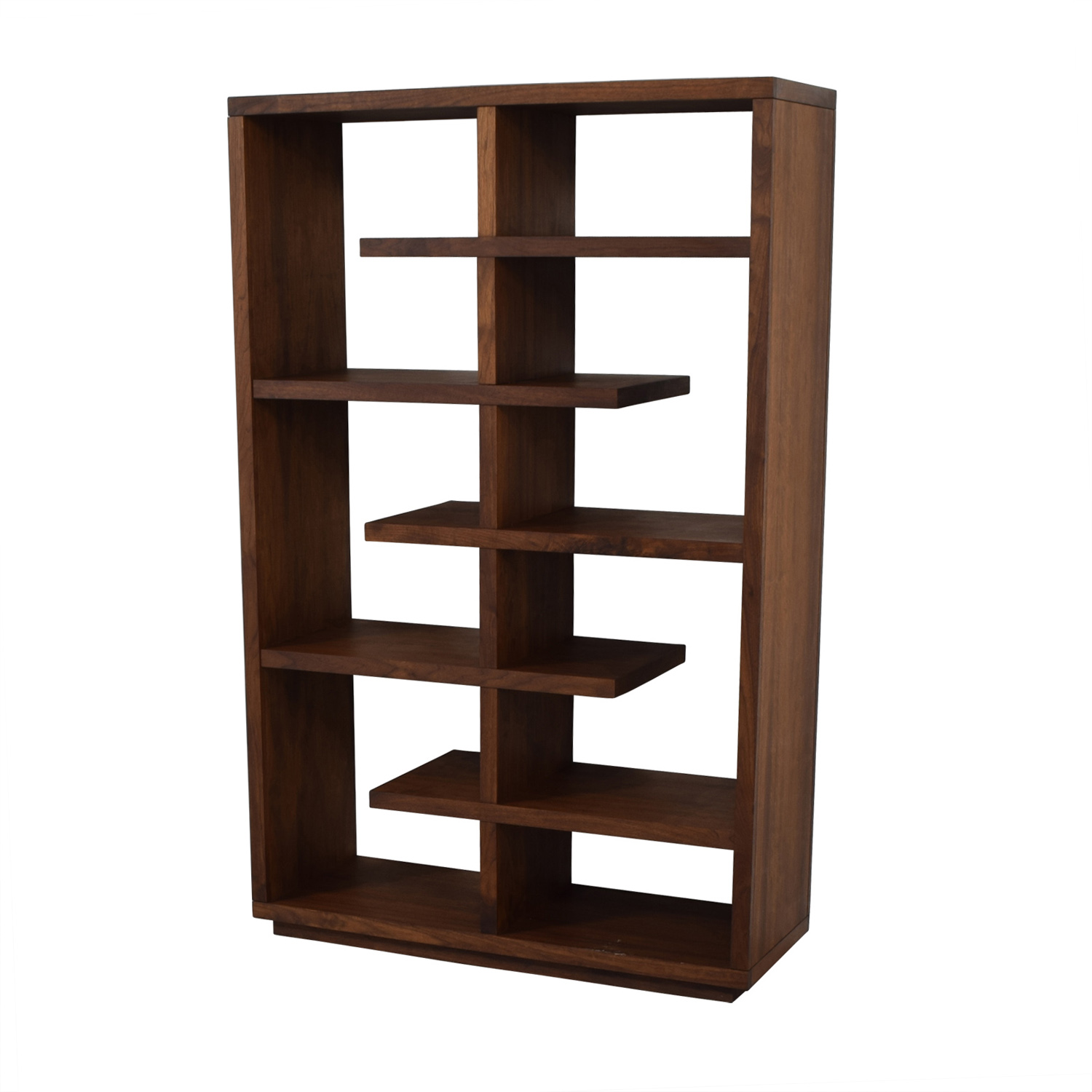 Buy Crate & Barrel Crate & Barrel Elevate Walnut Bookcase