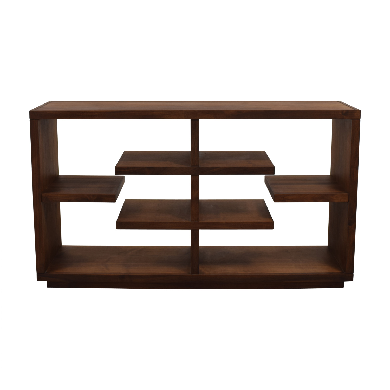 Crate & Barrel Crate & Barrel Elevate Walnut Bookcase