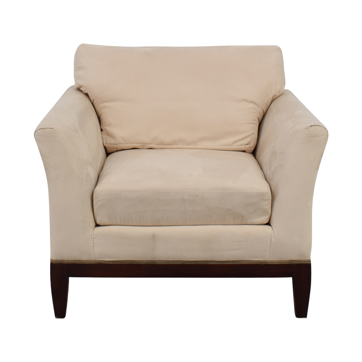 Woodmark Woodmark White Accent Chair nj