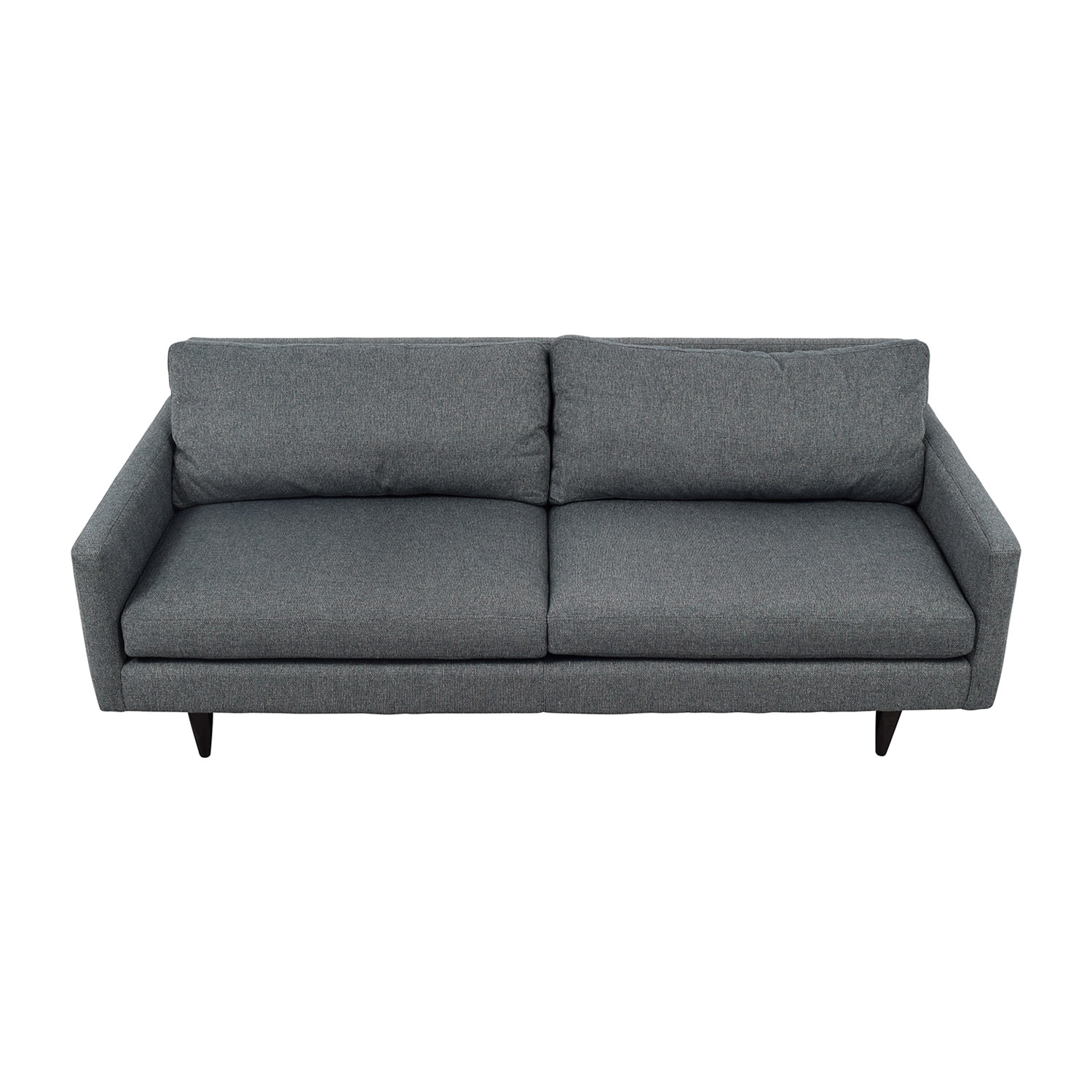Room & Board Room & Board Blue Grey Two-Cushion Sofa on sale