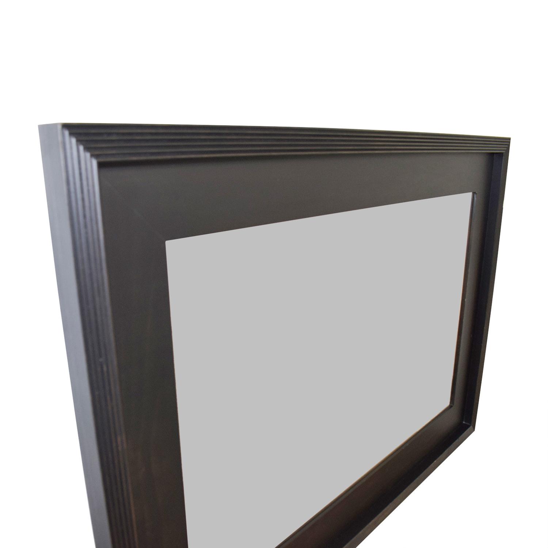 West Elm West Elm Black Framed Mirror Dimensions