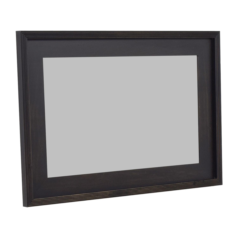 buy West Elm Black Framed Mirror West Elm