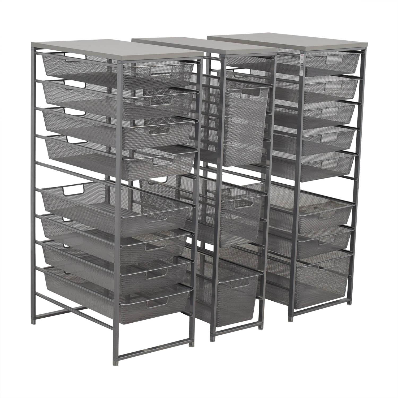 Container Store Metal Wire Organizational Storage sale