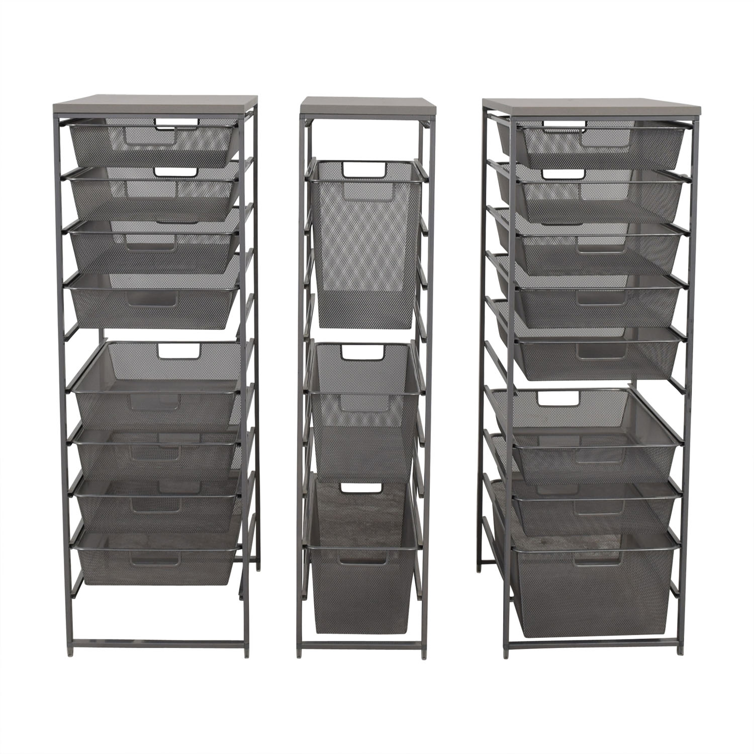 Container Store Container Store Metal Wire Organizational Storage on sale