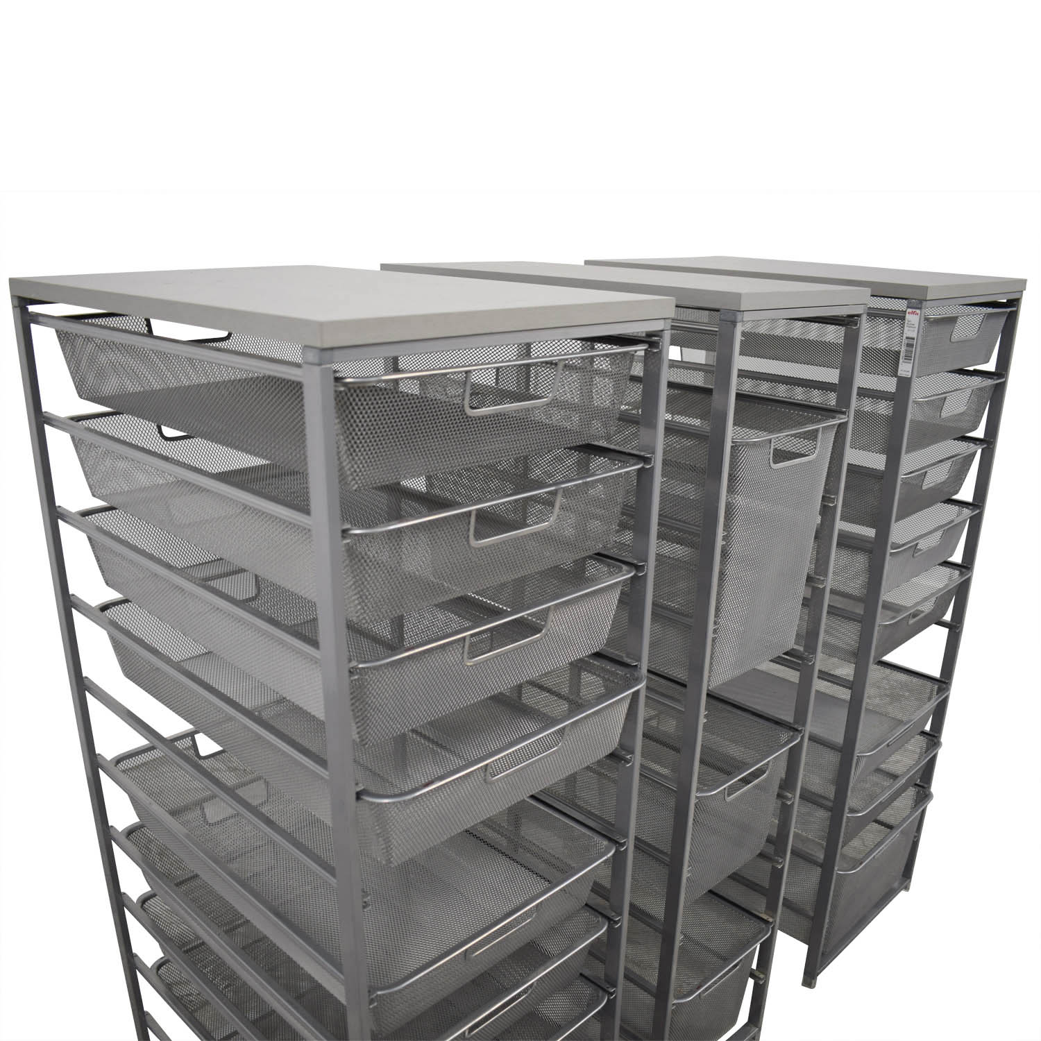 buy Container Store Metal Wire Organizational Storage Container Store Storage