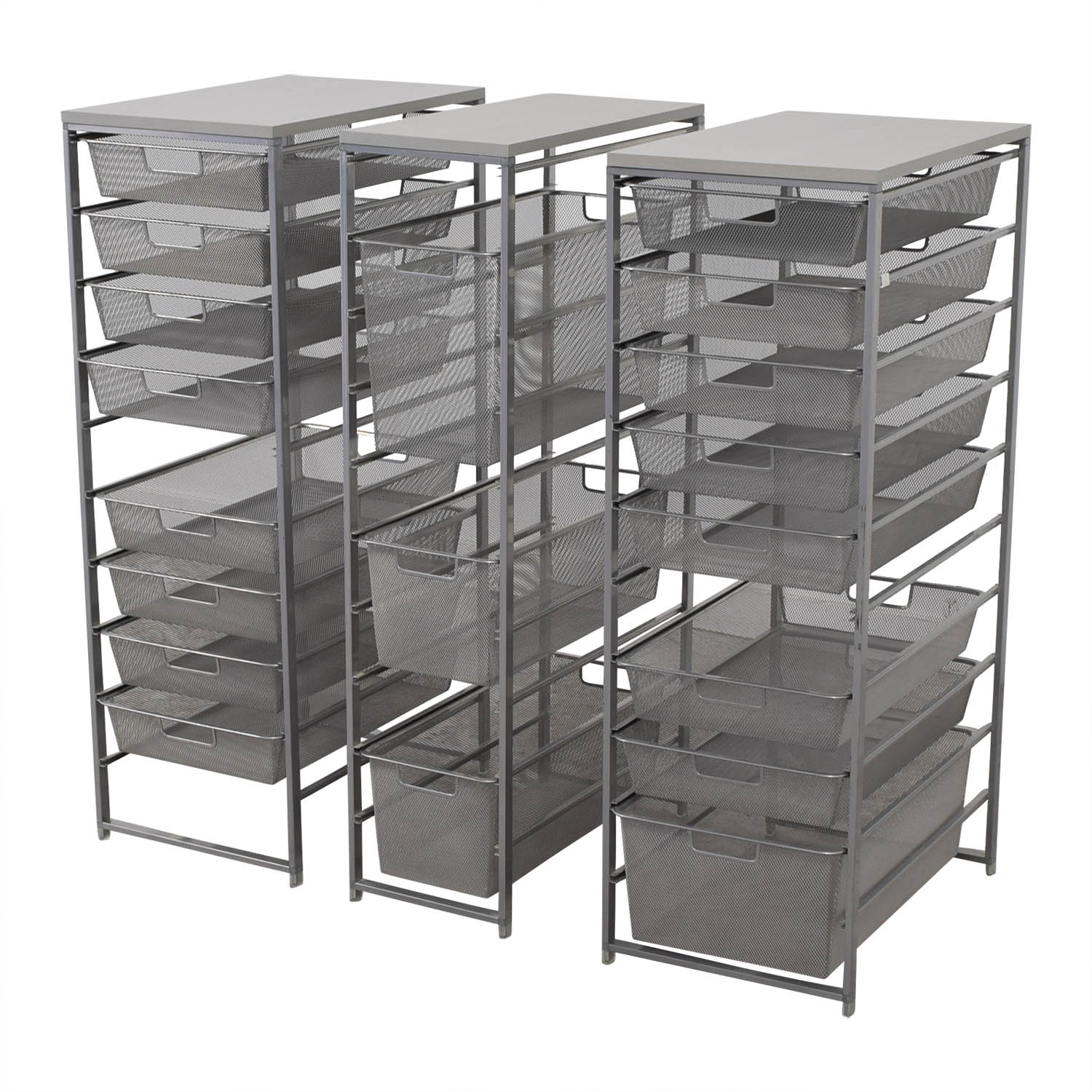 Container Store Metal Wire Organizational Storage / Filing & Bins
