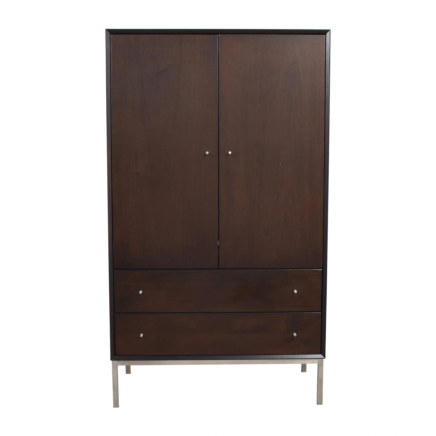 Room & Board Room & Board Delano Mahogany Armoire on sale