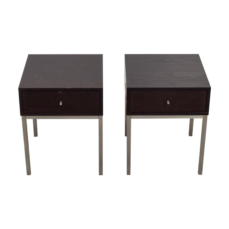 B+B Italia B+B Italia Single-Drawer Side Tables on sale