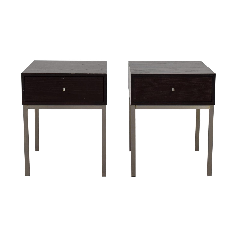 B+B Italia B+B Italia Single-Drawer Side Tables Tables