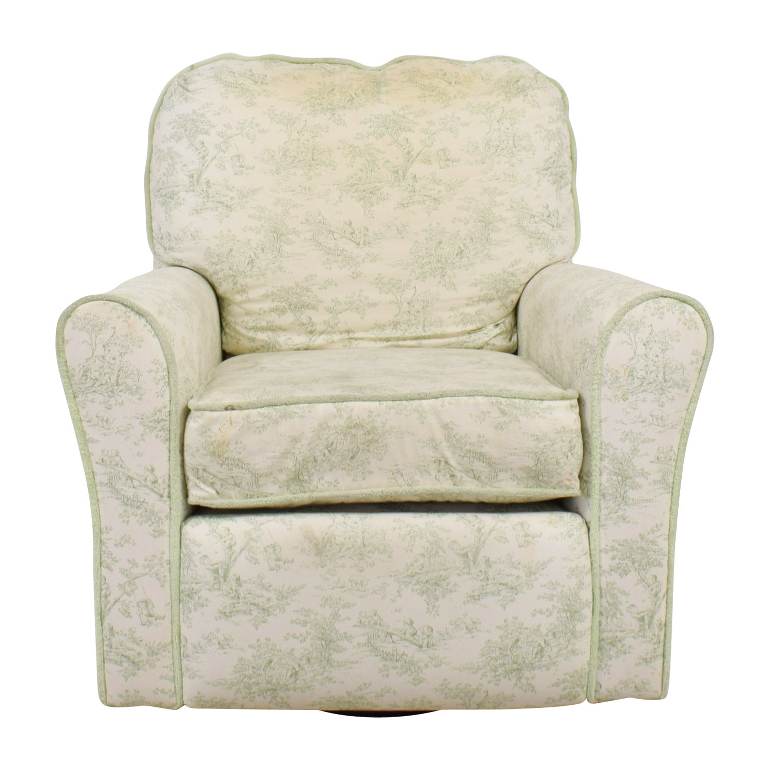 buy Bellini Baby Bellini Baby Children's Playground White and Green Rocking Chair Recliner online