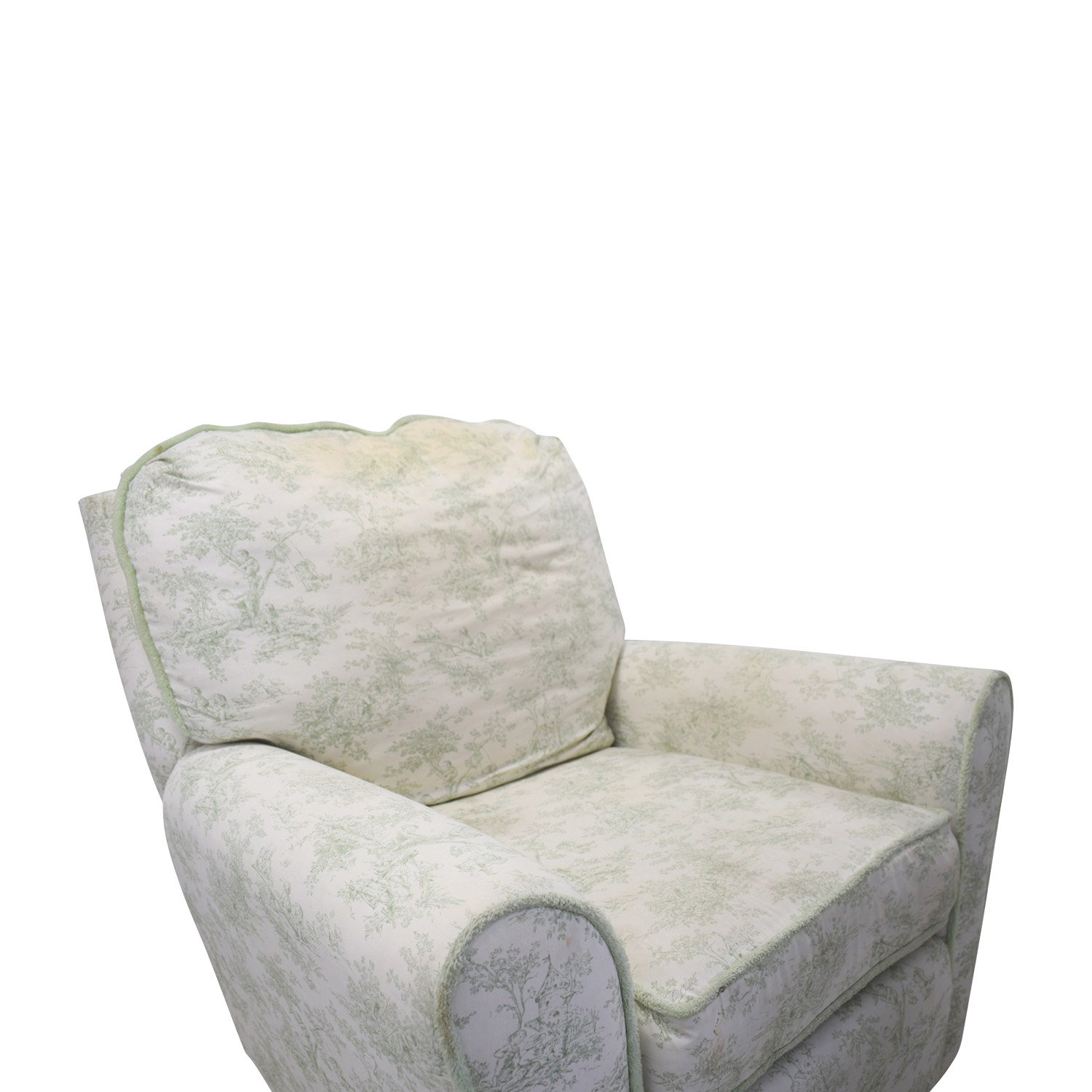 Bellini Baby Bellini Baby Children's Playground White and Green Rocking Chair Recliner for sale