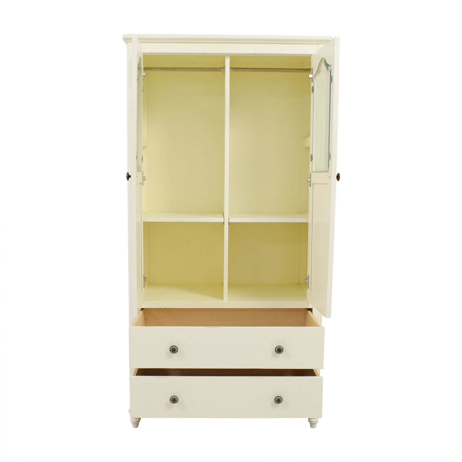 shop Bellini Baby White Child's Wardrobe Bellini Baby Storage