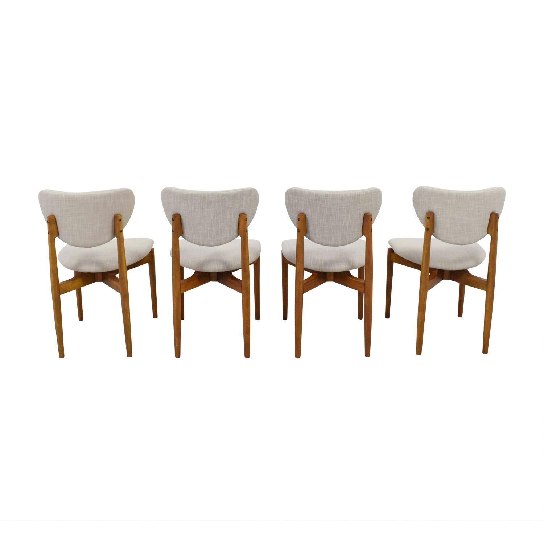 shop Dane Side Chairs West Elm Tables
