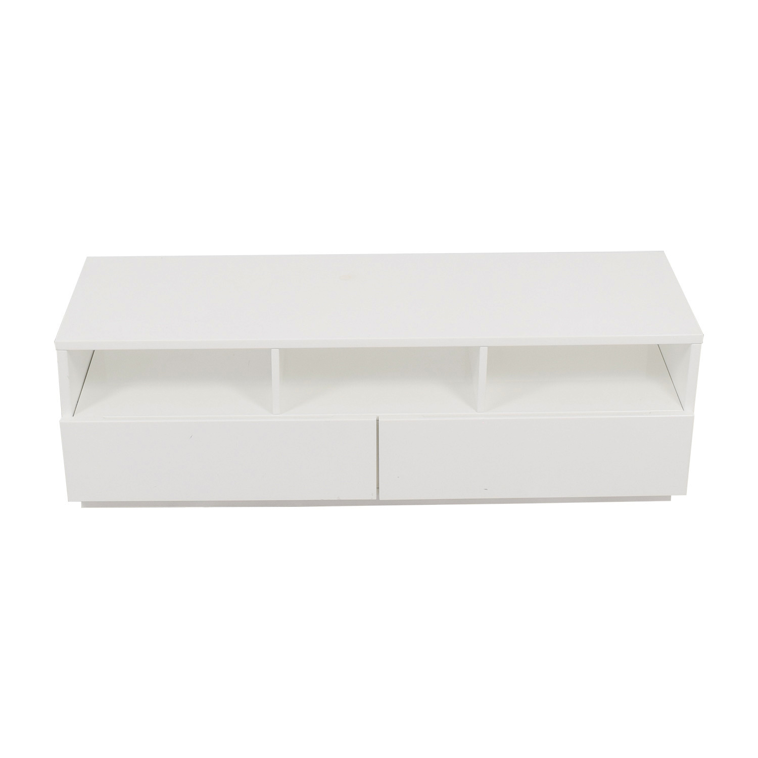 buy CB2 Chill White Media Console CB2