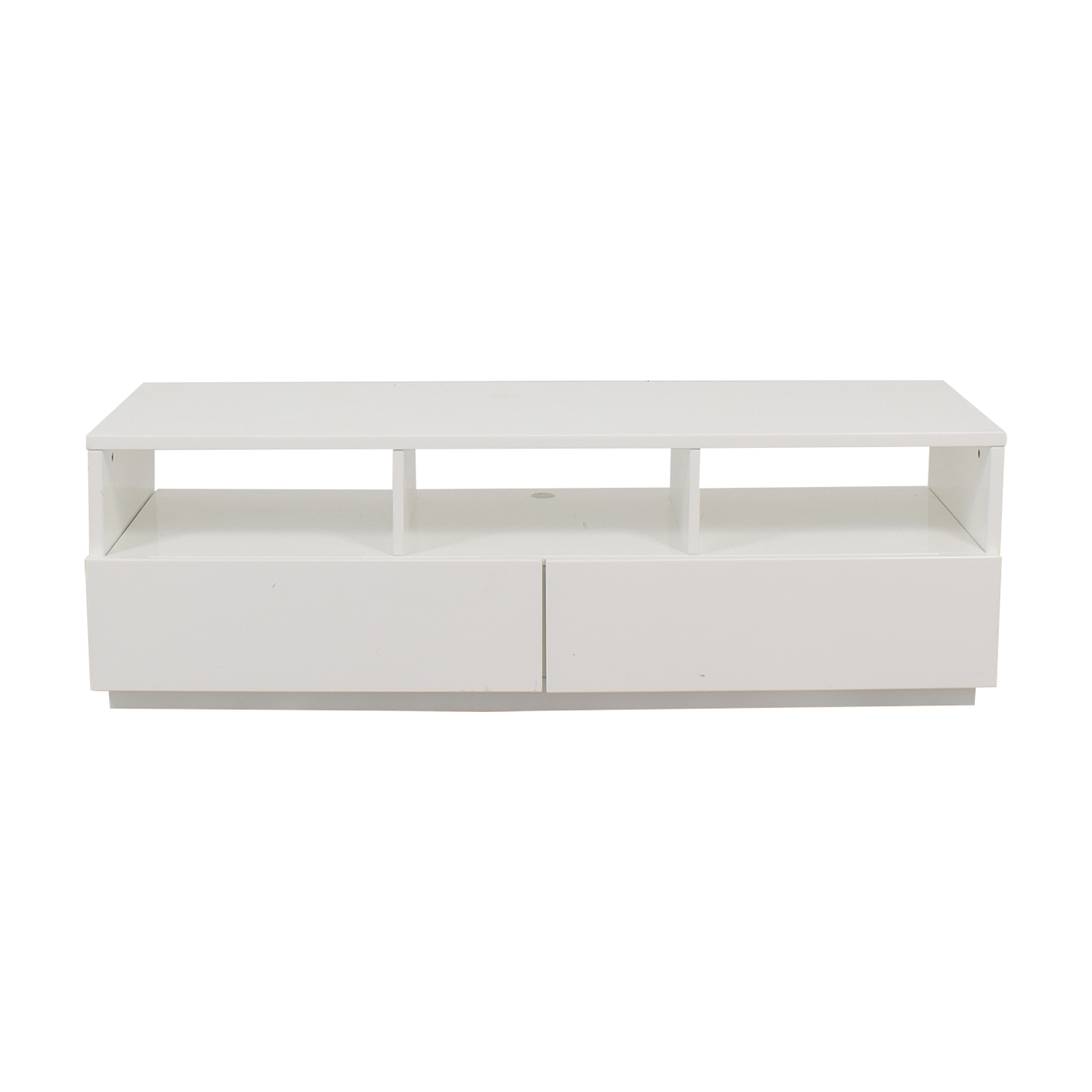 CB2 CB2 Chill White Media Console used