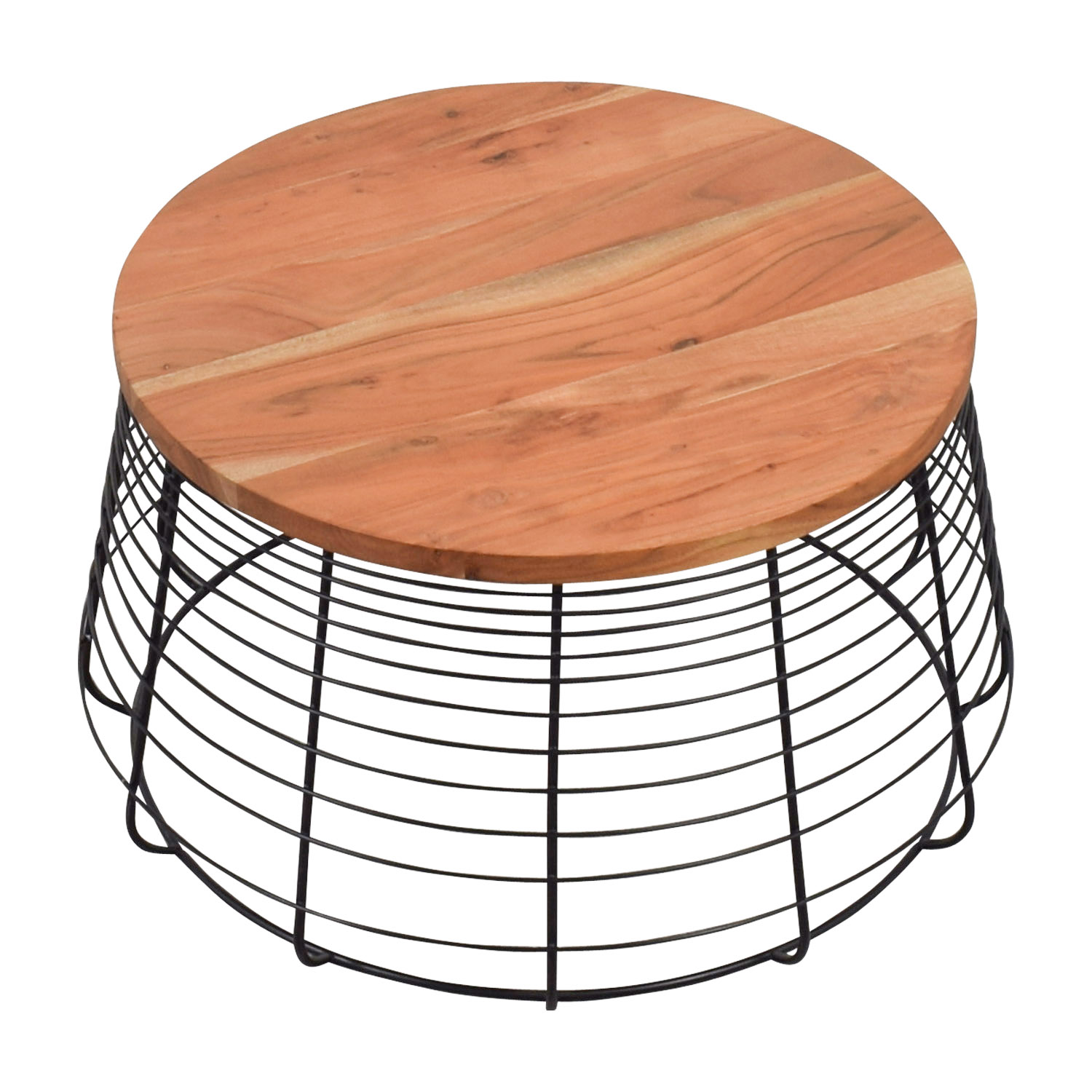 shop CB2 Apis Round Coffee Table CB2
