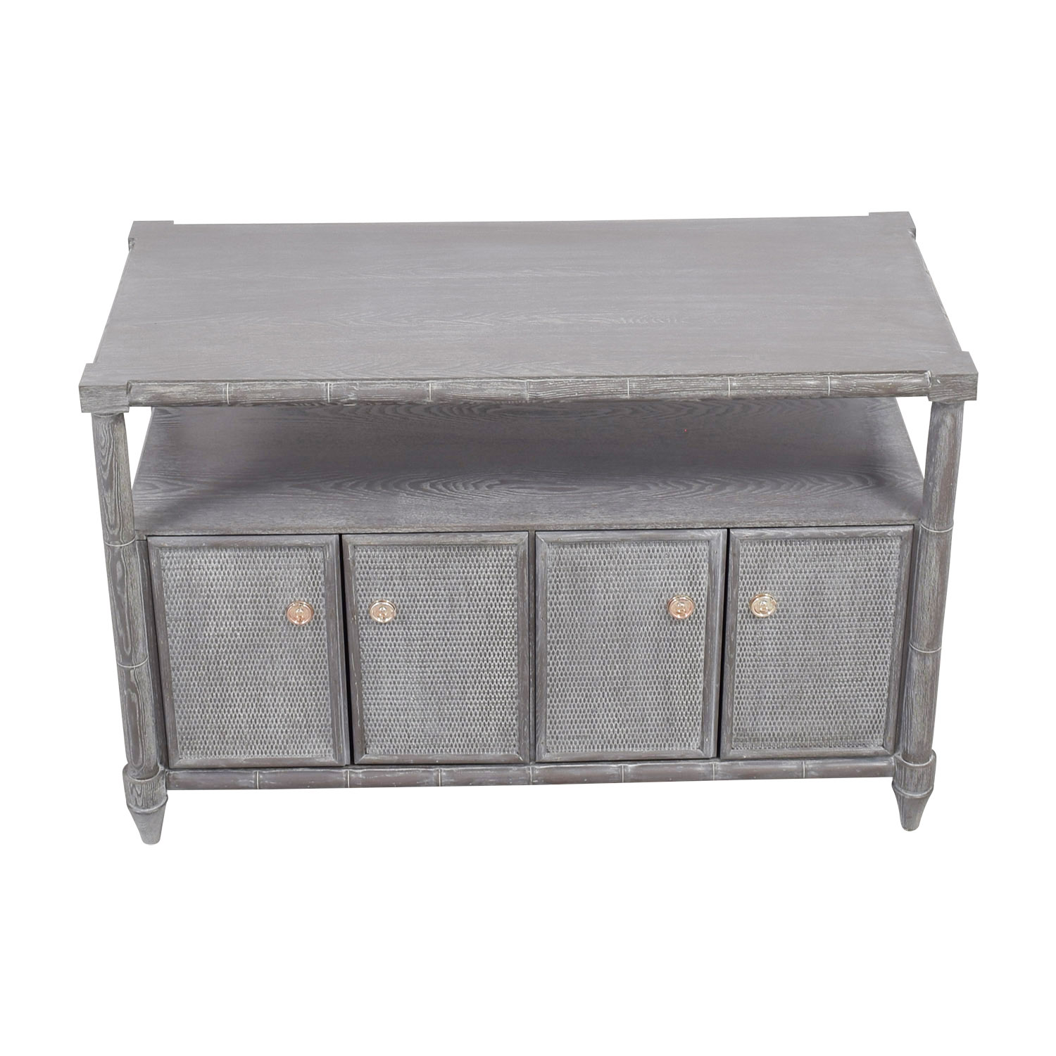 shop Bungalow 5 Bungalow 5 Fairfax Grey Cerused Oak Cabinet online
