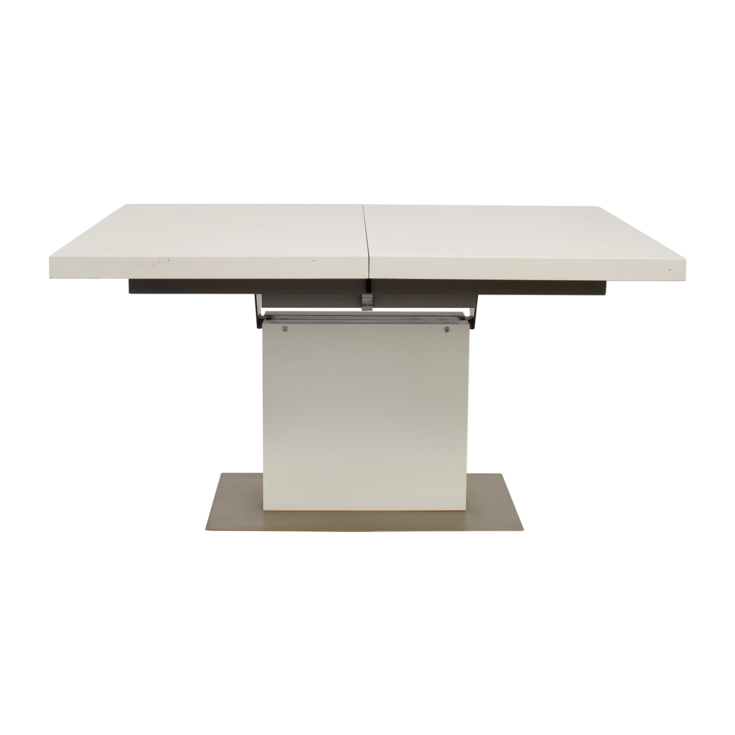 shop BoConcept BoConcept Extendable White and Grey Dining Table online