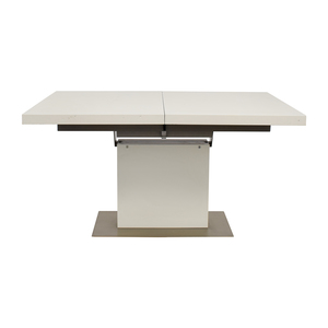 BoConcept BoConcept Extendable White and Grey Dining Table coupon
