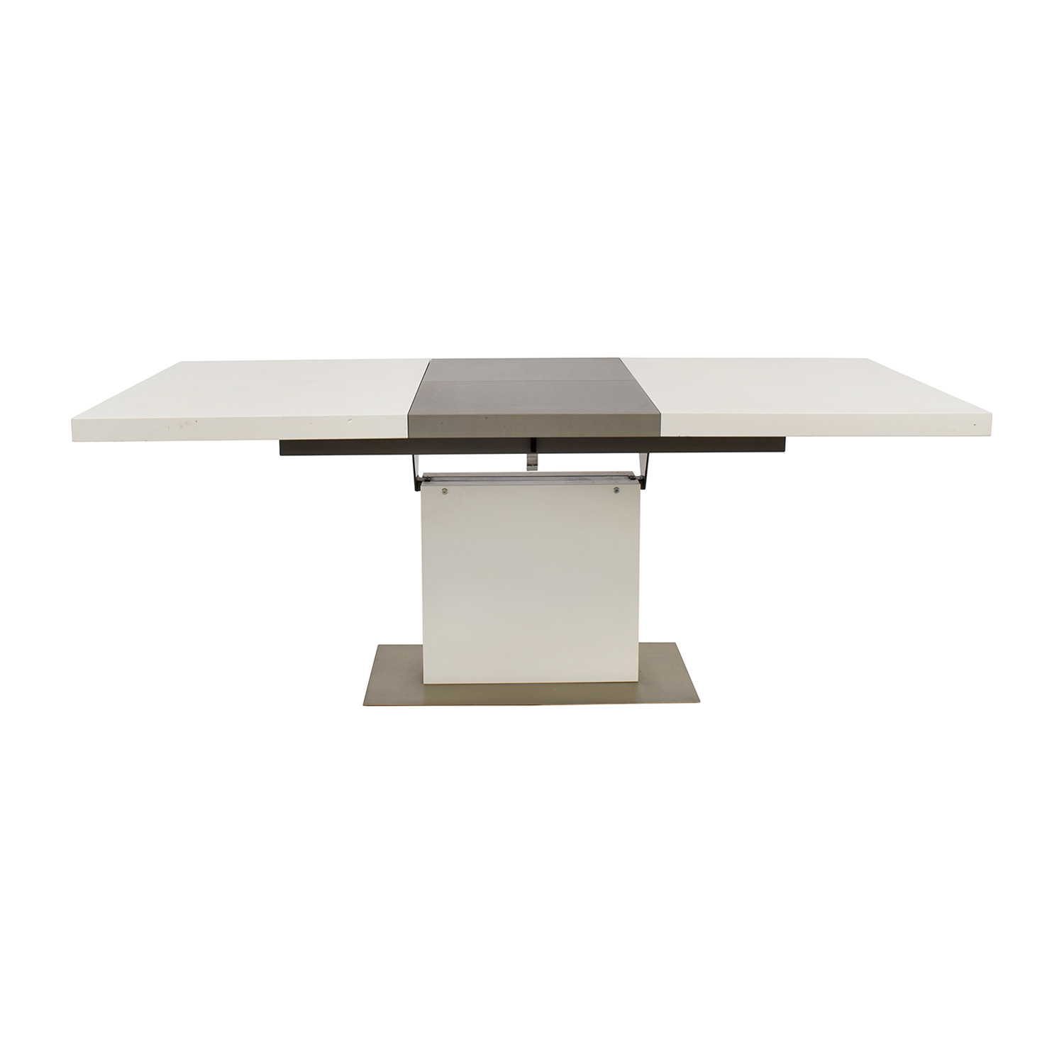 BoConcept BoConcept Extendable White and Grey Dining Table price