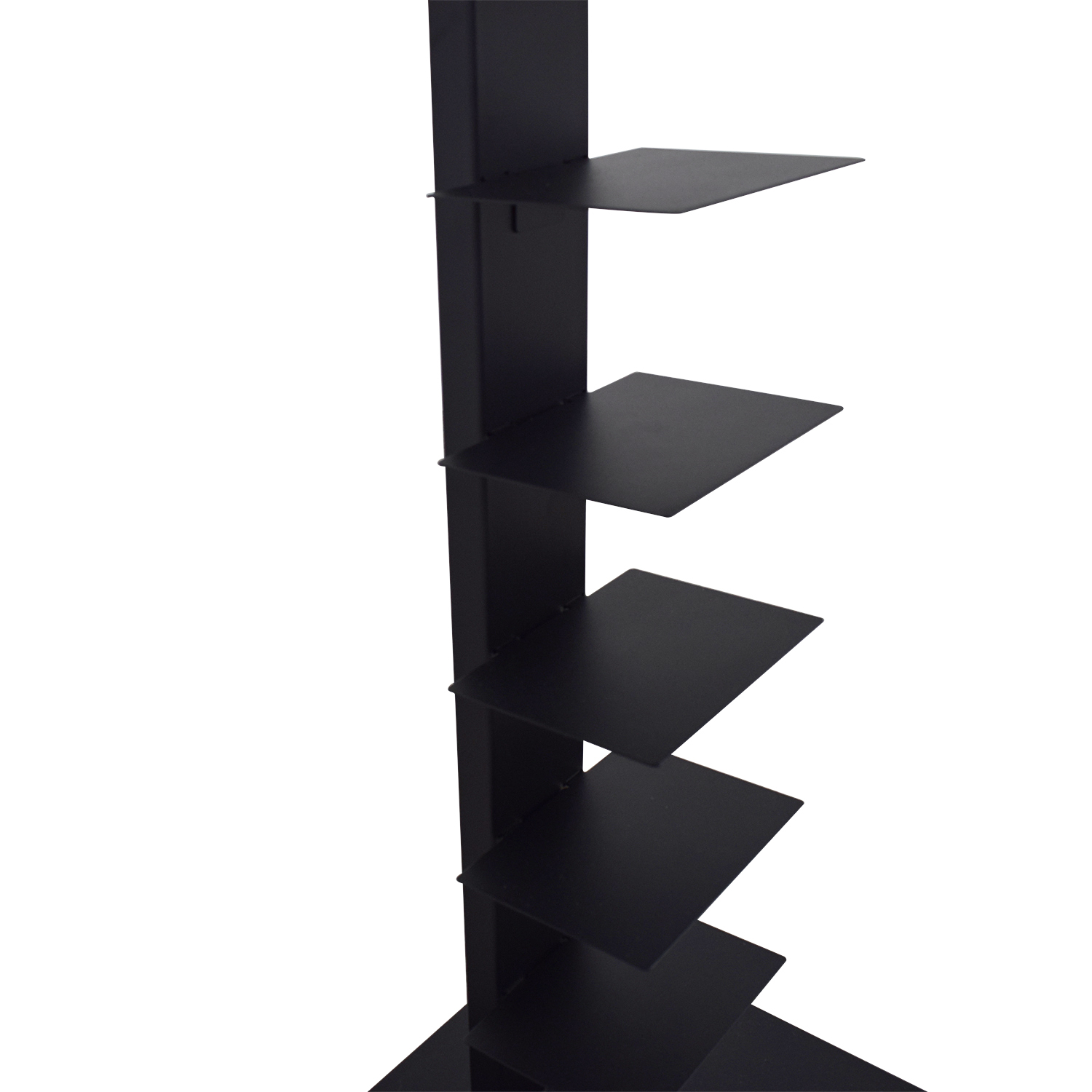 buy Container Store Anthracite Floating Bookshelf Container Store