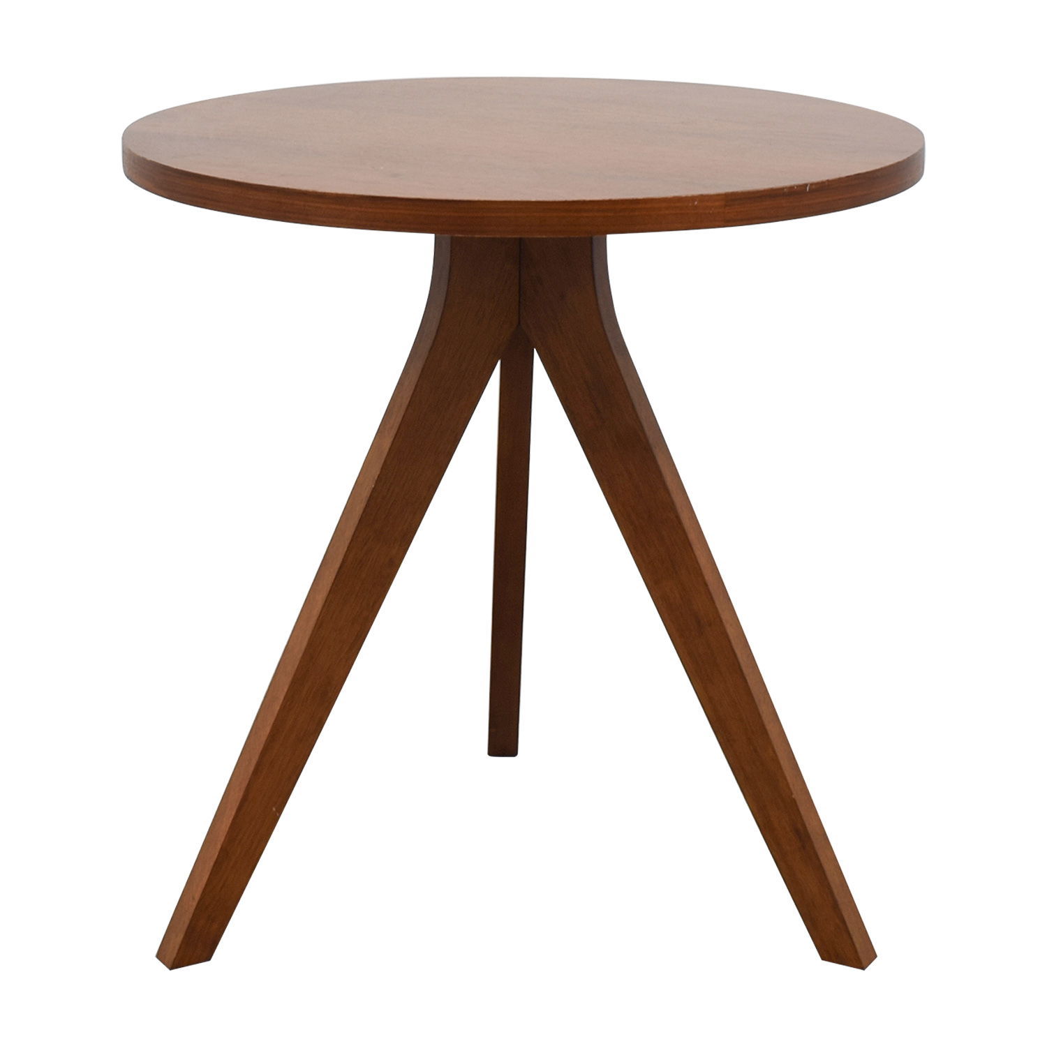 West Elm West Elm Walnut Tripod Table