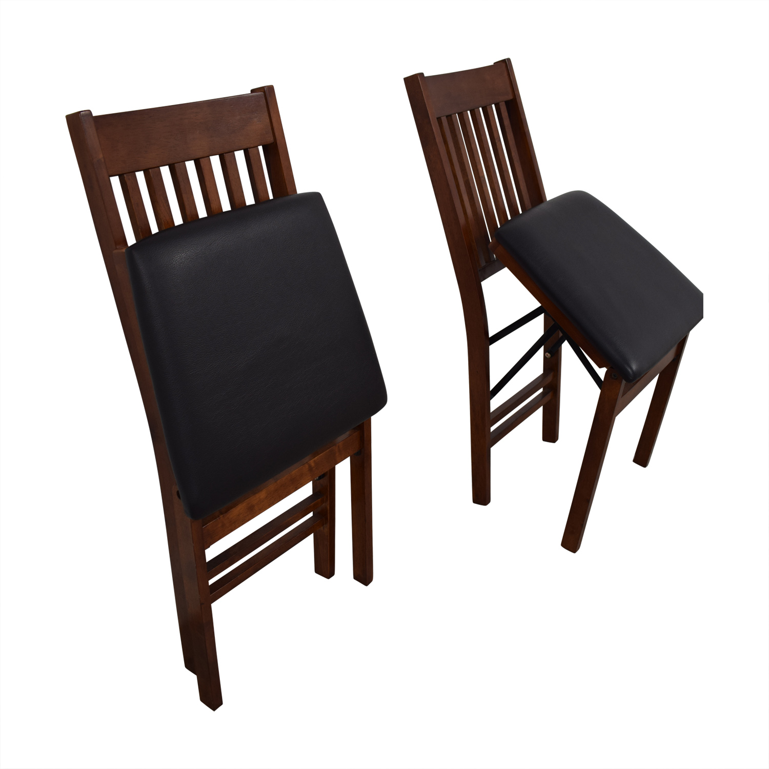 Outstanding 55 Off Linon Home Decor Linon Home Decor Mission Back Wood Folding Chairs Chairs Interior Design Ideas Oxytryabchikinfo