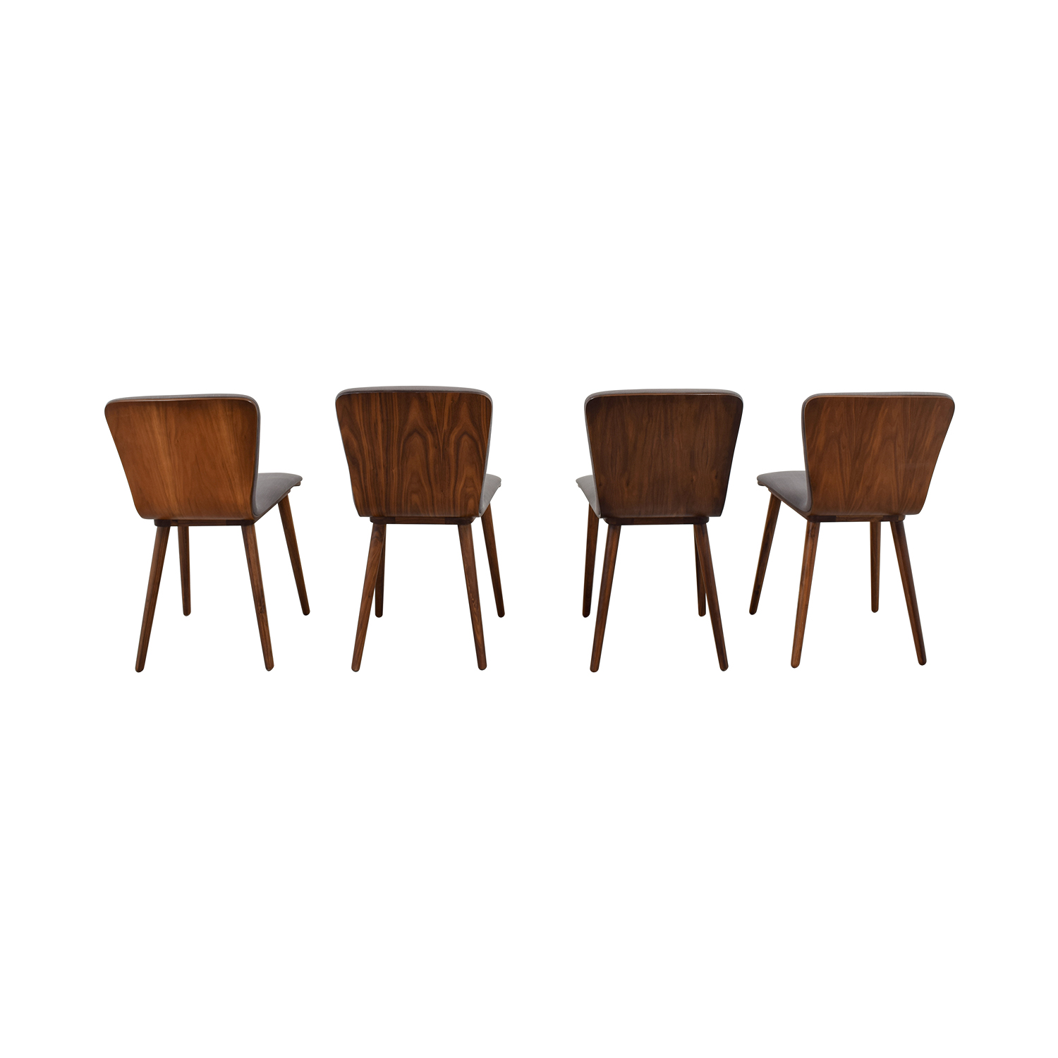 buy Article Sede Thunder Gray Walnut Dining Chairs Article