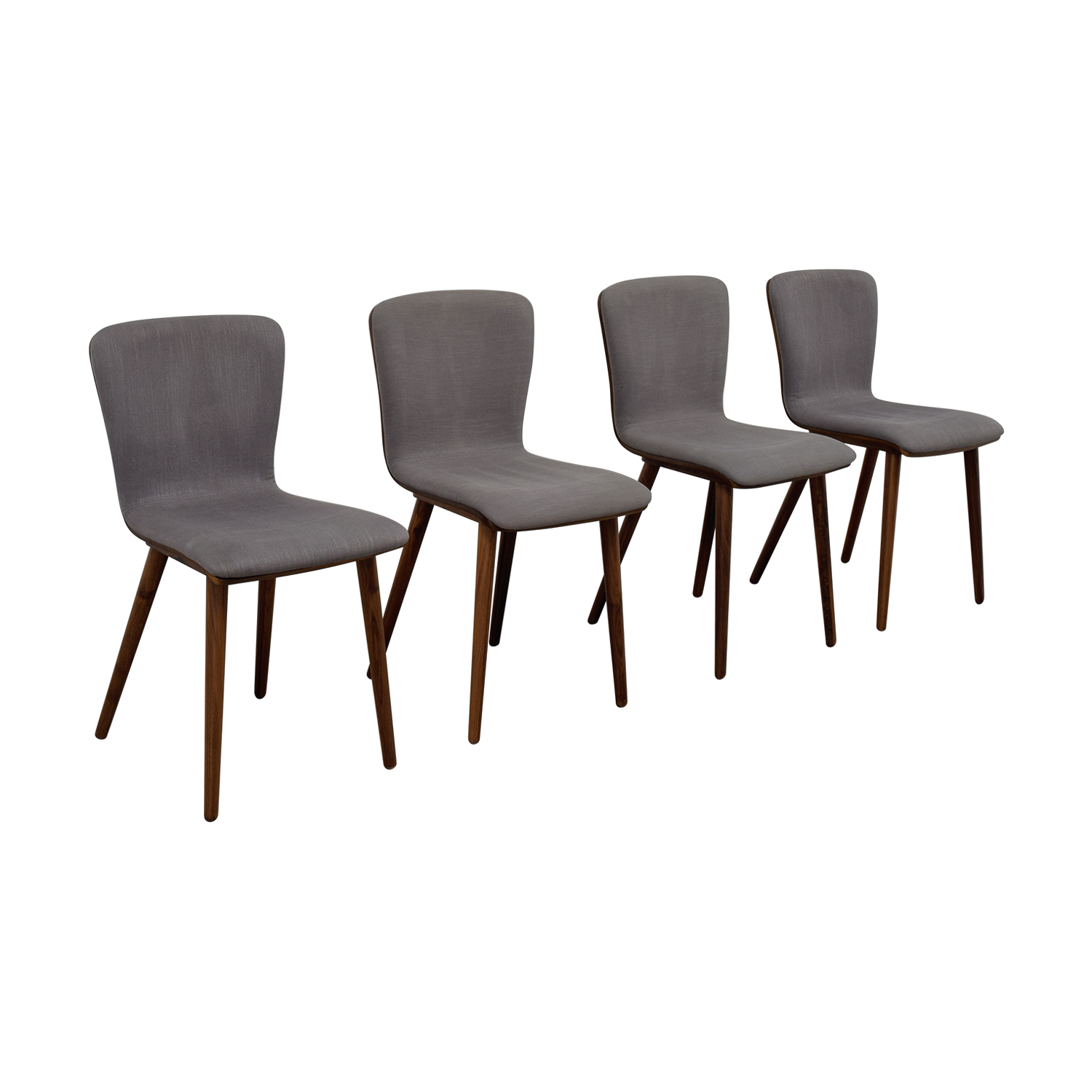 buy Article Article Sede Thunder Gray Walnut Dining Chairs online