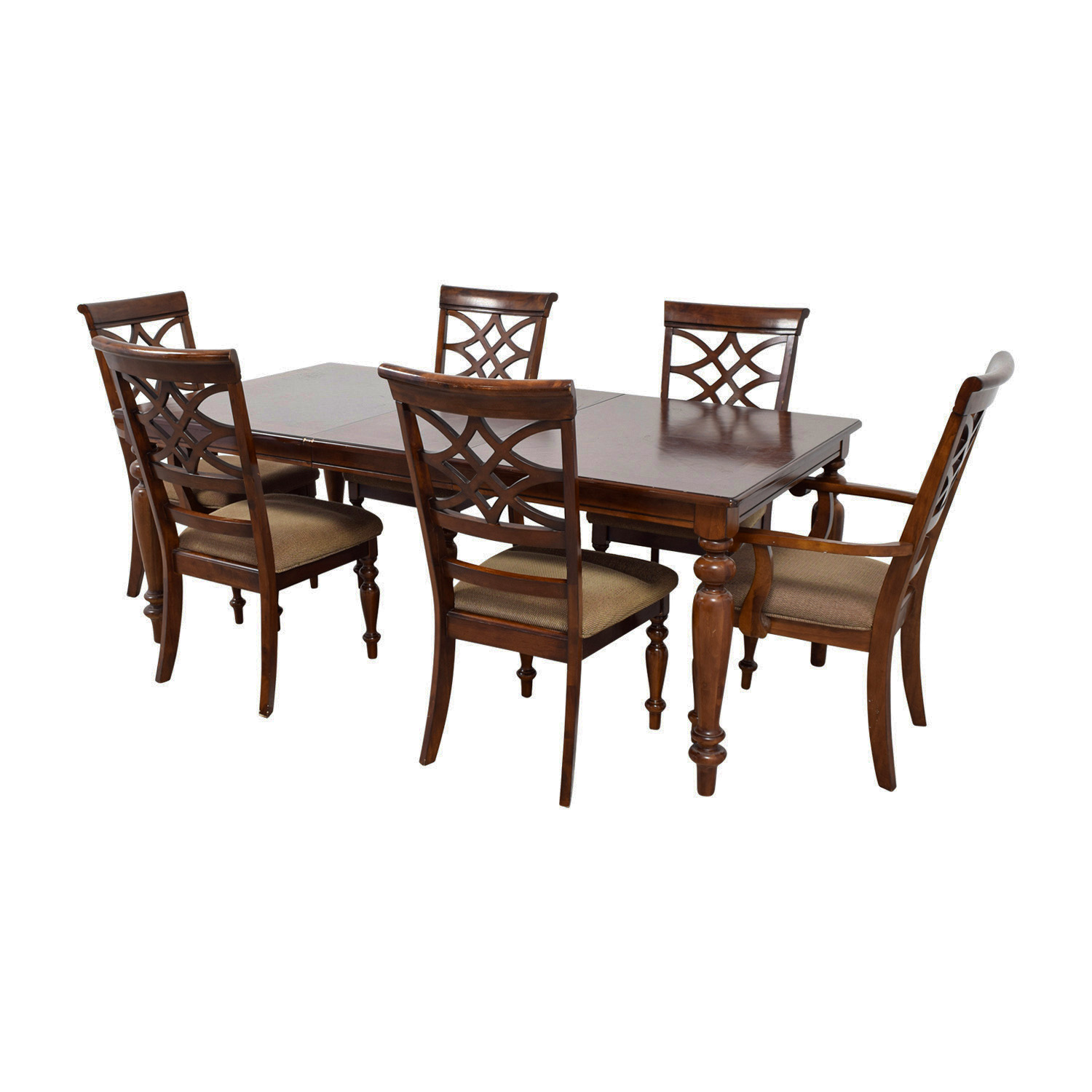 74 Off Bob S Furniture Bob S Furniture Wood Dining Set