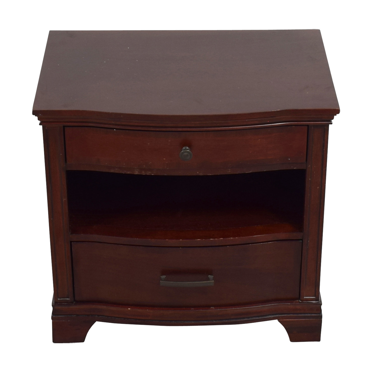 Universal Furniture Universal Furniture Two-Drawer Wood Nightstand discount