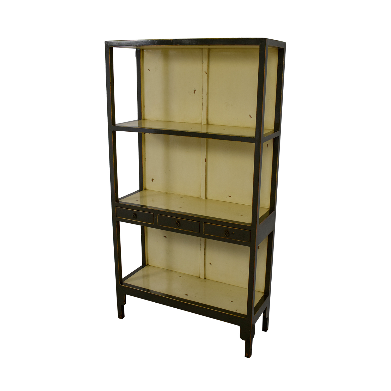 90 Off Horchow Horchow Distressed Decorative Shelving Storage