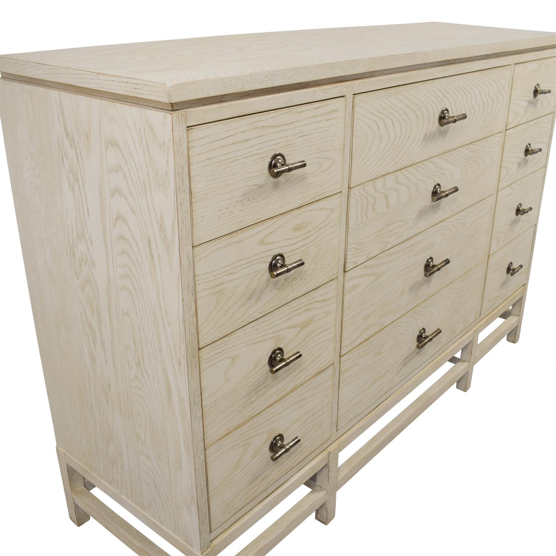 buy Stanley Furniture Whitewashed Wood Twelve-Drawer Dresser Stanley Furniture Dressers