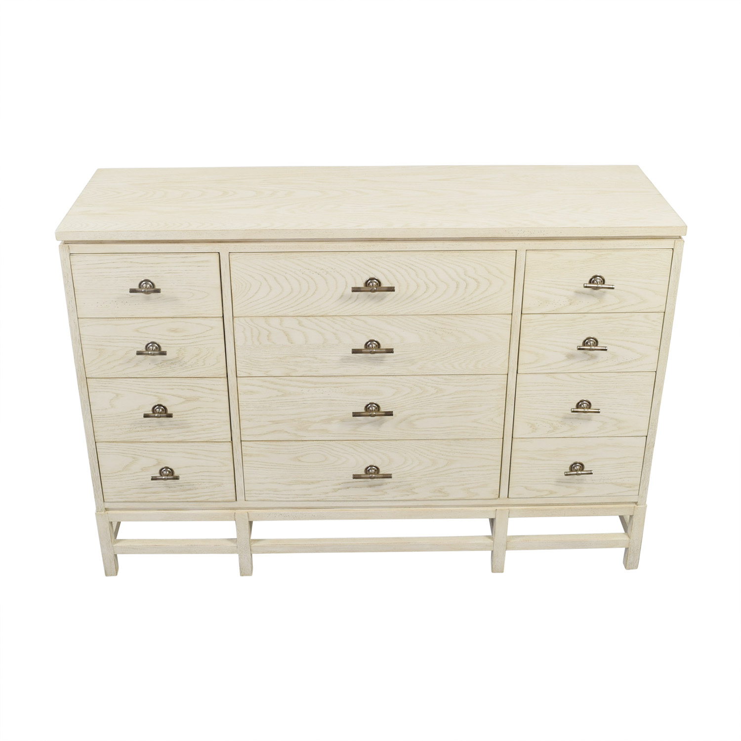Stanley Furniture Stanley Furniture Whitewashed Wood Twelve-Drawer Dresser nj