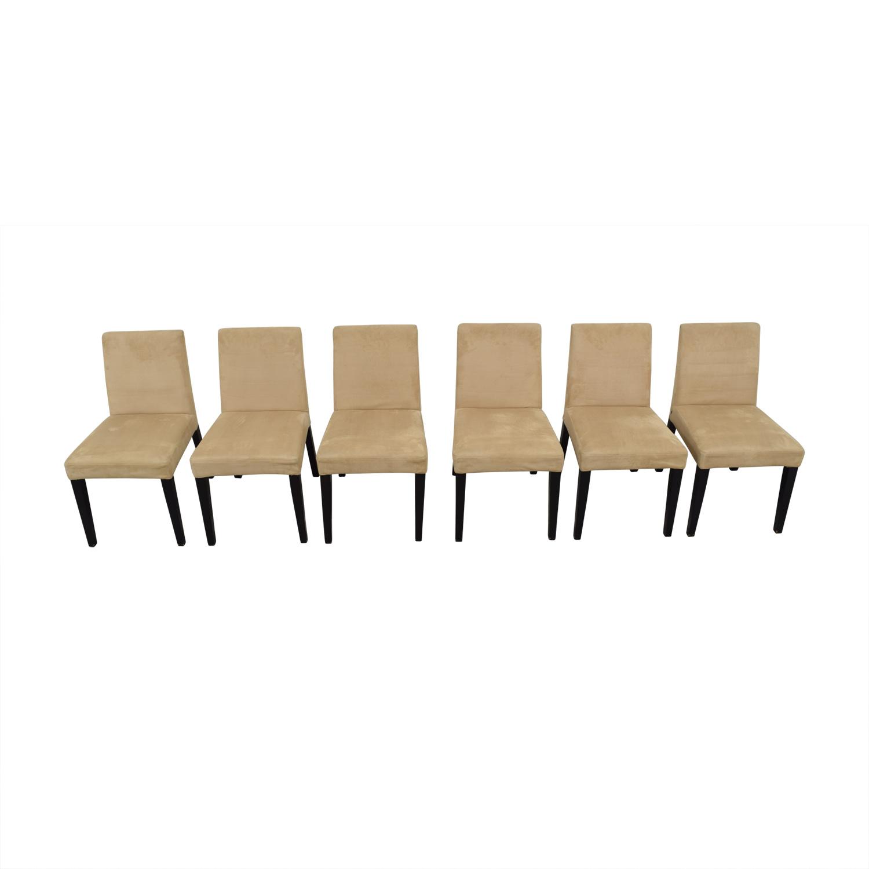 BoConcept Genova Tan Suede Chairs sale