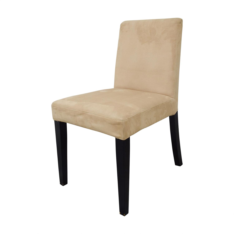 buy BoConcept Genova Tan Suede Chairs BoConcept