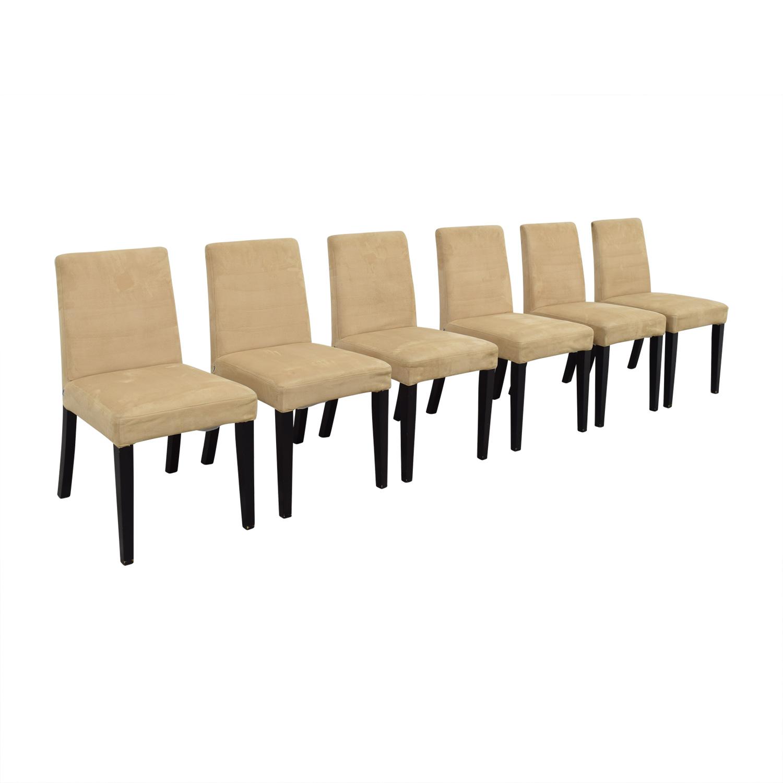 BoConcept BoConcept Genova Tan Suede Chairs nyc