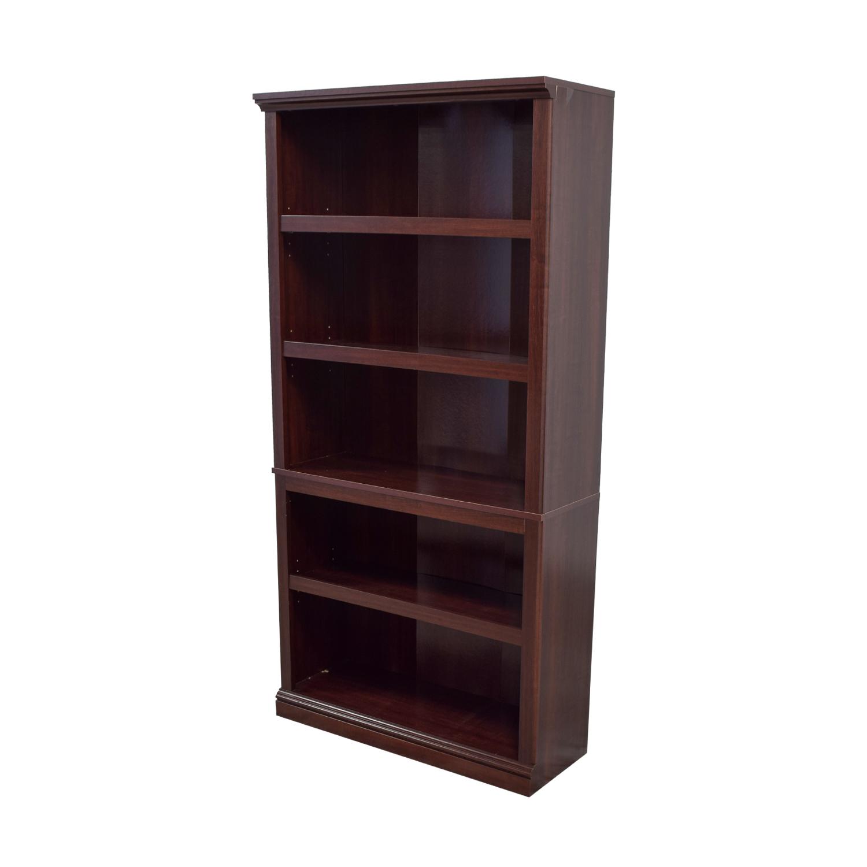 shop Custom Wood Bookshelf