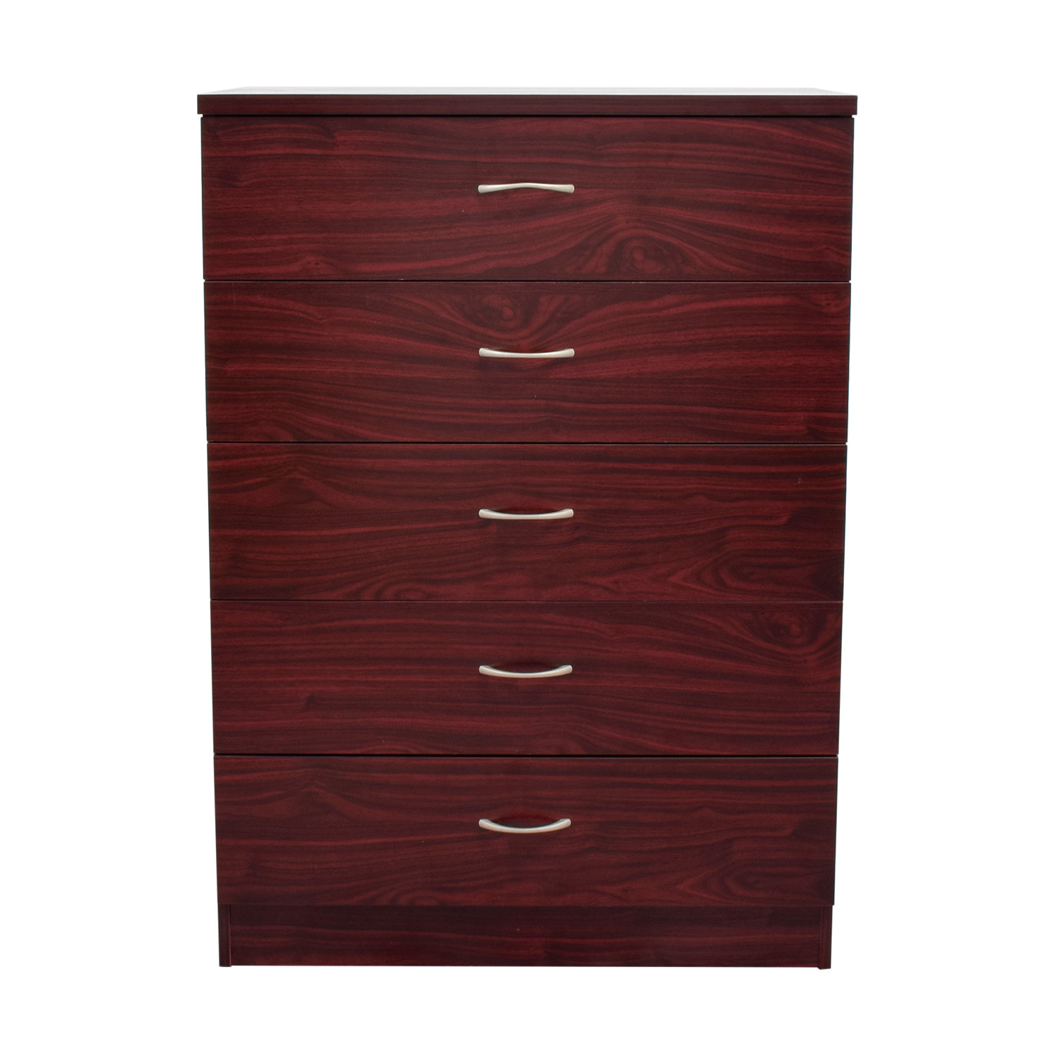 Five-Drawer Wood Chest of Drawers