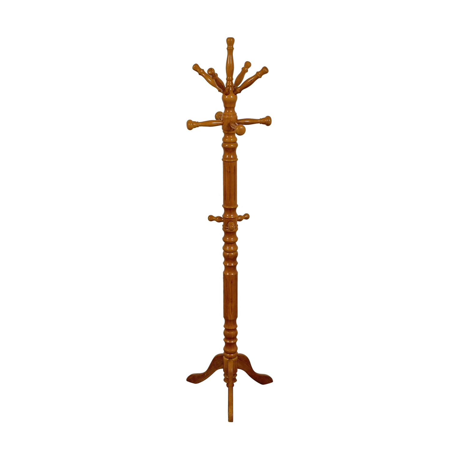 Carved Wood Coat Rack nyc