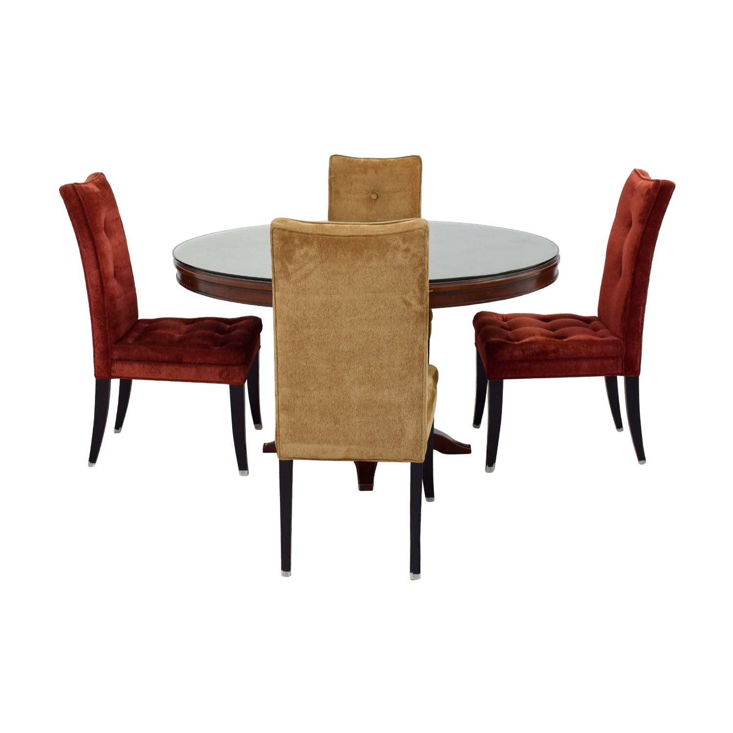 Bombay Bombay Artisan Round Dining Table With