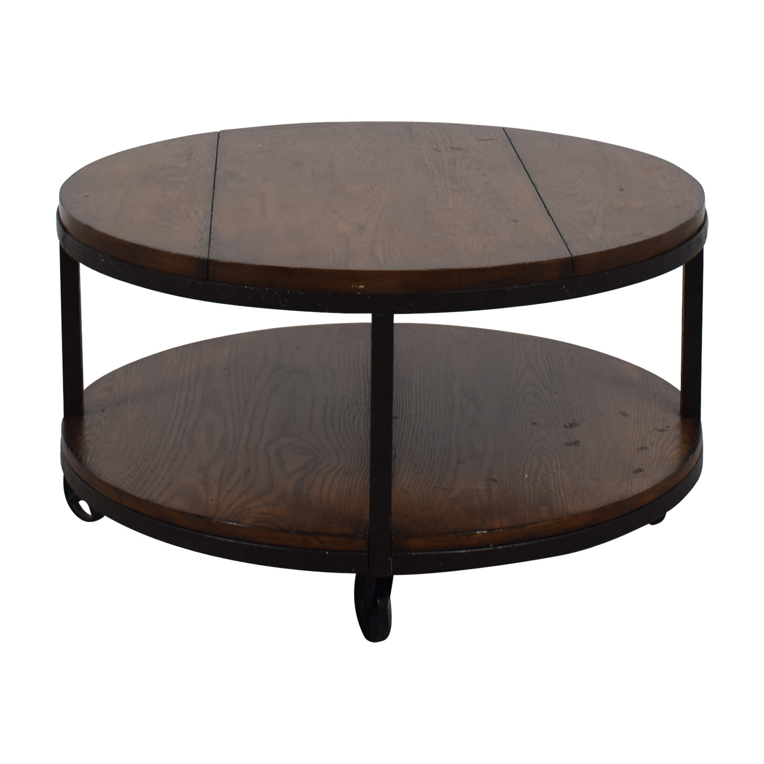 Shop Hammary Baha Hammary Baha Round Wood Coffee Table Online