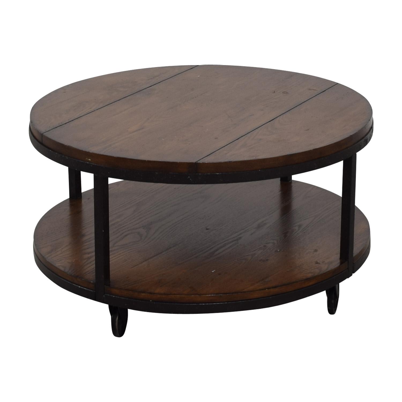 Hammary Baha Hammary Baha Round Wood Coffee Table Tables