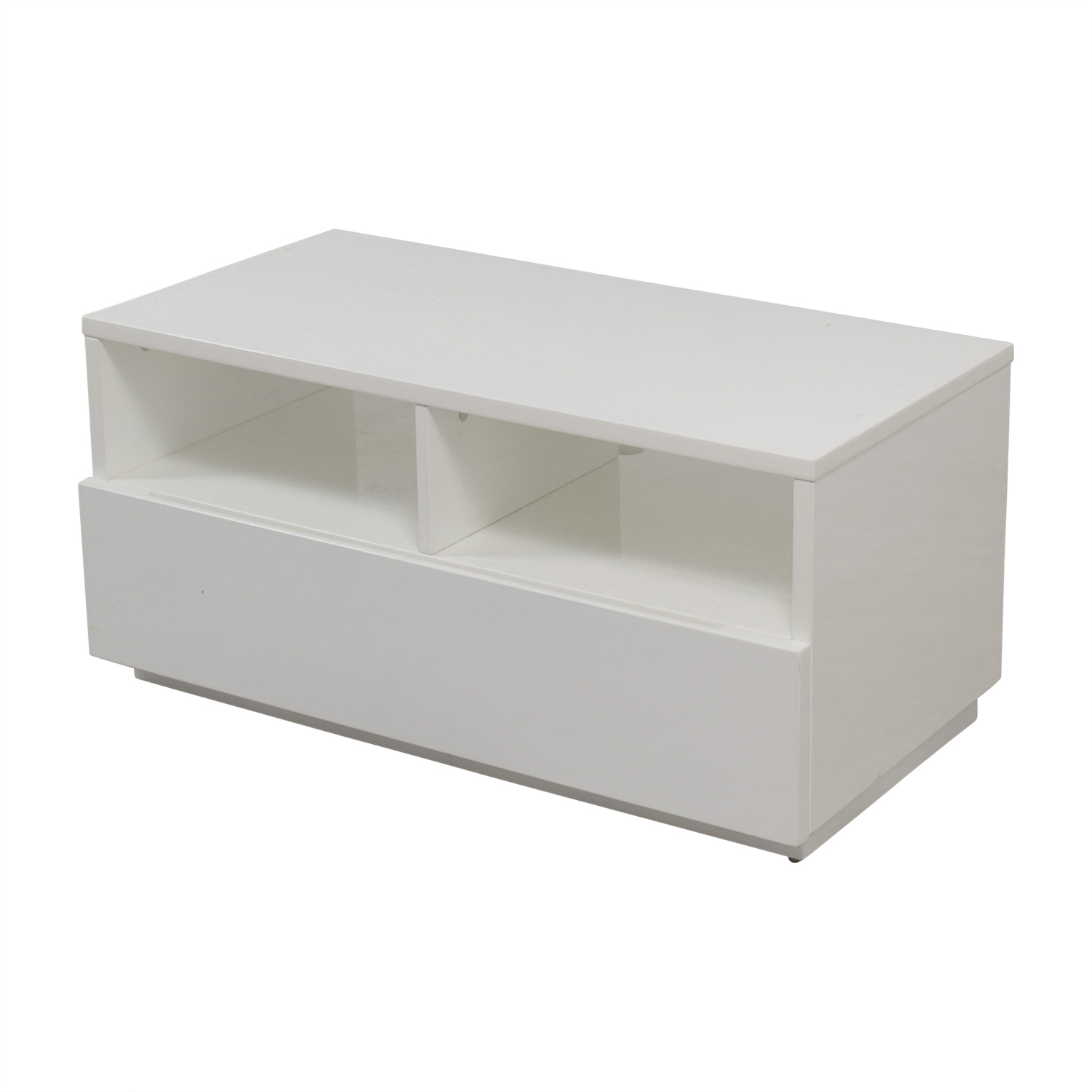 Cb2 Cb2 Chill White Media Console Nj